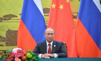 Putins izskaidro Eiropas migrācijas krīzi ar aklu sekošanu ASV politikai