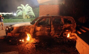 Lībijā uz laiku slēgta gaisa satiksme ar Bengāzī