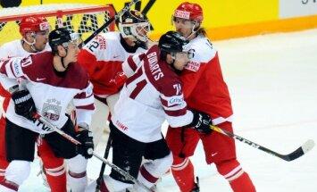 Latvijas hokejisti vienīgajā pārbaudes spēlē pirms olimpiskās kvalifikācijas uzņem Dāniju