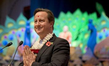 Воскового Кэмерона убрали из музея Мадам Тюссо из-за насмешек посетителей
