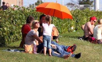 Dobelē un Stendē pārspēts 17. jūlija karstuma rekords
