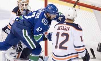 Pēc pusotra mēneša Edmontonas 'Oilers' aizmaina Stenlija kausa ieguvēju Jeržābeku