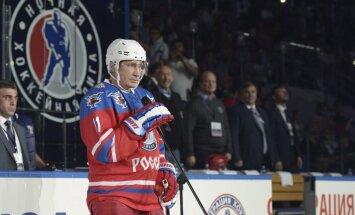 Putina 'zvaigžņu spēles' dalībnieks stāsta, kā bija jāspēlē pret Krievijas prezidentu