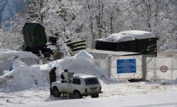 Foto: Sočos iespaidīgi armijas spēki rūpējas par drošību