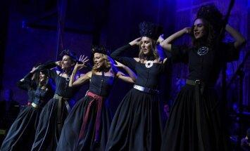 Foto: 'Visas manas greznas dziesmas' – tautas mūzikas koncerts Dziesmu svētkos