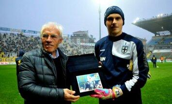 Latvietis cenšas izsisties Itālijas futbolā un atgūt 'Parma' iepriekšējo slavu. Intervija ar Kristapu Zommeru