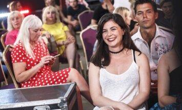 Foto: Ieskats šova 'X Faktors' pirmās TV atlases filmēšanā