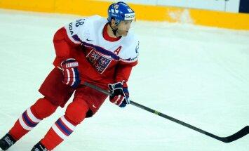 Čehijai neizdodas pierunāt Jāgru spēlēt pasaules čempionātā