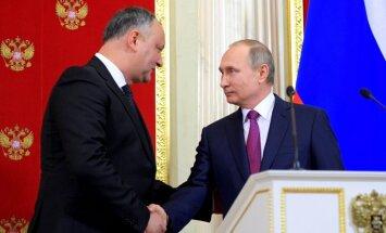 Dodons aizliedz Moldovas karavīriem piedalīties NATO mācībās