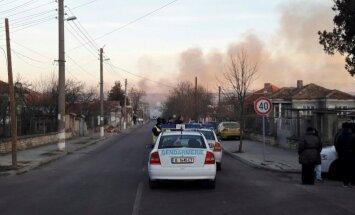 Kravas vilciena eksplozijā Bulgārijā vismaz pieci bojāgājušie