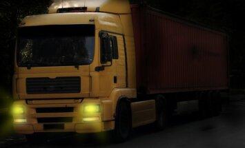 Из-за плохой погоды в Латвии установлены ограничения по массе транспортных средств