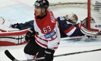 Video: Kanādas hokejisti Ziemeļamerikas duelī uzvar PČ pusfinālā
