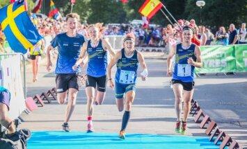 Pasaules čempionātā sprinta stafetē Latvijas orientēšanās izlasei 17. vieta