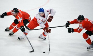 Čehijas hokeja izlase pēdējos 'liekos' paziņos īsi pirms PČ