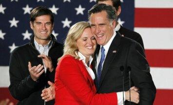 Republikāņu partija Romniju oficiāli izvirzījusi ASV prezidenta amatam