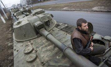 Separātisti turpina apšaudes un apgalvo, ka Ukraina pārkāpj pamiera vienošanos
