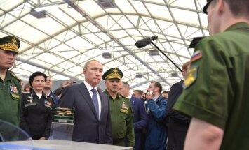 Krievija plāno paplašināt savu kodolarsenālu