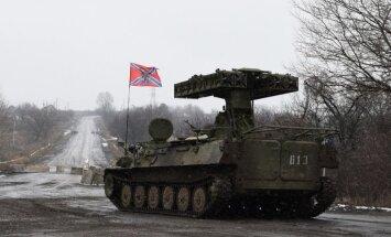 Diplomāts: Austrumukrainā teroristu pusē karojušas 8500 Krievijas militārpersonas
