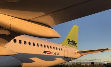 'airBaltic' saņēmusi 12. 'Airbus A220-300' lidmašīnu