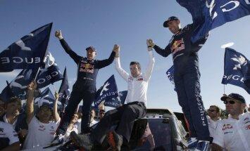 Peteransels 13. reizi triumfē Dakaras rallijreidā, Sanderlends sagādā pirmo uzvaru Lielbritānijai
