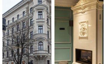 Foto: Vēsturiskajā Iekšlietu ministrijas ēkā Raiņa bulvārī atklāta pieczvaigžņu viesnīca