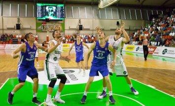 Kristapa Valtera debijā trenera arodā 'Valmiera/ORDO' zaudē LU basketbolistiem