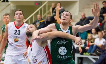Veiksmīgi spēlējošā 'Jēkabpils' uzvar arī 'Valmiera'/ORDO basketbolistus