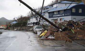 Viesuļvētrā 'Marija' Dominikā dzīvību zaudējuši septiņi cilvēki; viesuļvētra sasniedz Puertoriko
