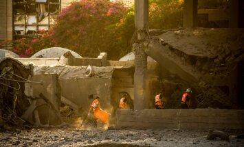 Izraēla veikusi gaisa uzlidojumus 'Hamas' pozīcijām Gazas joslā