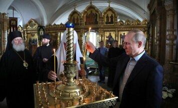 Путин прибыл на Валаам и подарил монастырю огромную яхту