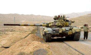 Alepo pretestības sagrāvei al Asads mobilizē 10 000 vīrus