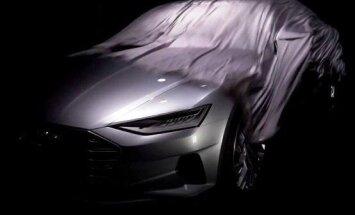 Video: 'Audi' daļēji atklāj 'A9' prototipu