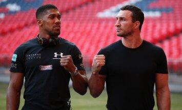 Anthony Joshua, Wladimir Klitschko, Wembley Stadium
