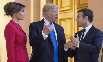 Макрон после разговора с Трампом больше не добивается ухода Асада