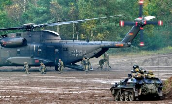 Vācijas ministre noliedz Bundesvēra nespēju vadīt NATO spēkus