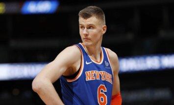 'Knicks' pret 'Spurs' - latviešu duelis Ņujorkā būs īpaša Latvijai veltīta spēle