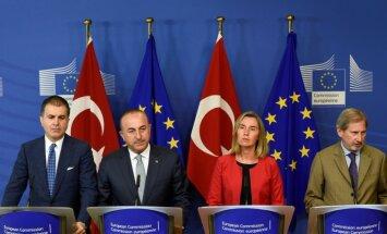 ES un Turcijas sarunās neizdodas mazināt spriedzi savstarpējās attiecībās