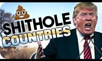 Video: Namībietis asprātīgi atbild Trampa 'sūdu bedres' izteicienam