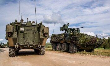 NBS komandieris neapmierināts ar rezerves karavīru trūkumu militārajās mācībās 'Namejs'