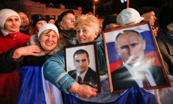 Ukraina nodos starptautiskajām institūcijām ekspertīzes rezultātus par Putina izteikumiem filmā 'Krima. Ceļš uz dzimteni'