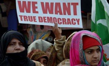 'Freedom House': Demokrātijas stāvoklis pasaulē pērn pasliktinājies