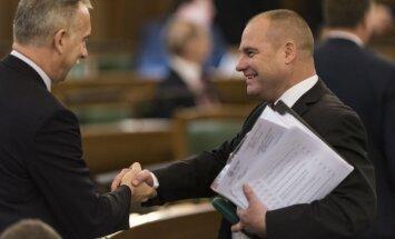 Foto: Budžeta trešdiena jeb svarīgākā diena tautas kalpu dzīvē