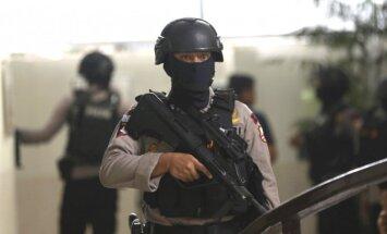 Pirms Āzijas spēlēm Indonēzijā arestēti vairāki desmiti iespējamo teroristu