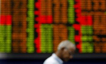 Перед крымским референдумом резко рухнули российские биржевые индексы