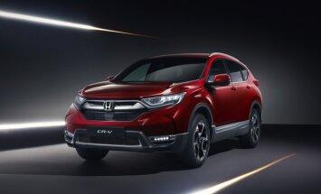 Pirmie attēli ar jauno 'Honda CR-V' Eiropas tirgum