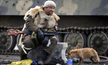 Foto: Kā izskatās prokrievisko kaujinieku sagrautajā Debaļcevē