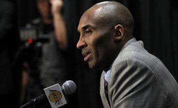 Fani sāk izsolīt Kobes Braienta emocionālo atvadu vēstuli