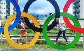 Pa atslēgas caurumu: Latvijas olimpieši, kuri mums parādīs Rio