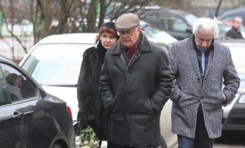 ФОТО: в Риге простились с Валерием Малыгиным
