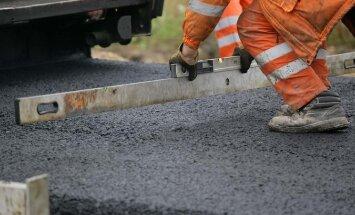 На шоссе Рига-Эргли начинаются ремонтные работы